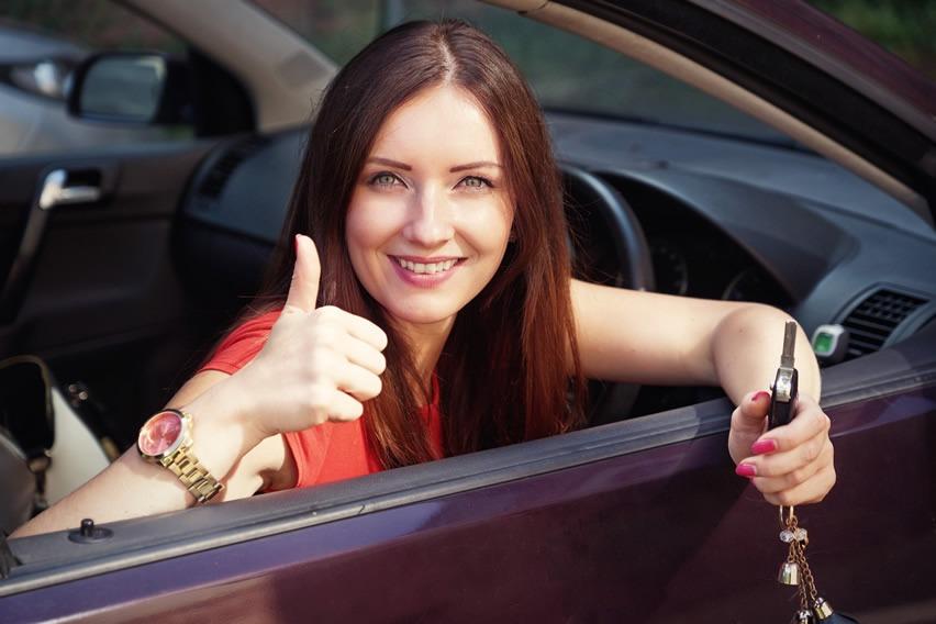 Ex learner driver holding keys