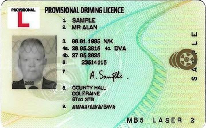 provisional licence faq