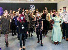 Collingwood Insurance Team celebrate Insurance Choice Awards