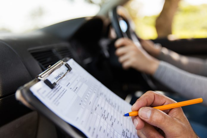 Ongoing Driving Test