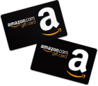 Two Amazon Gift Cards