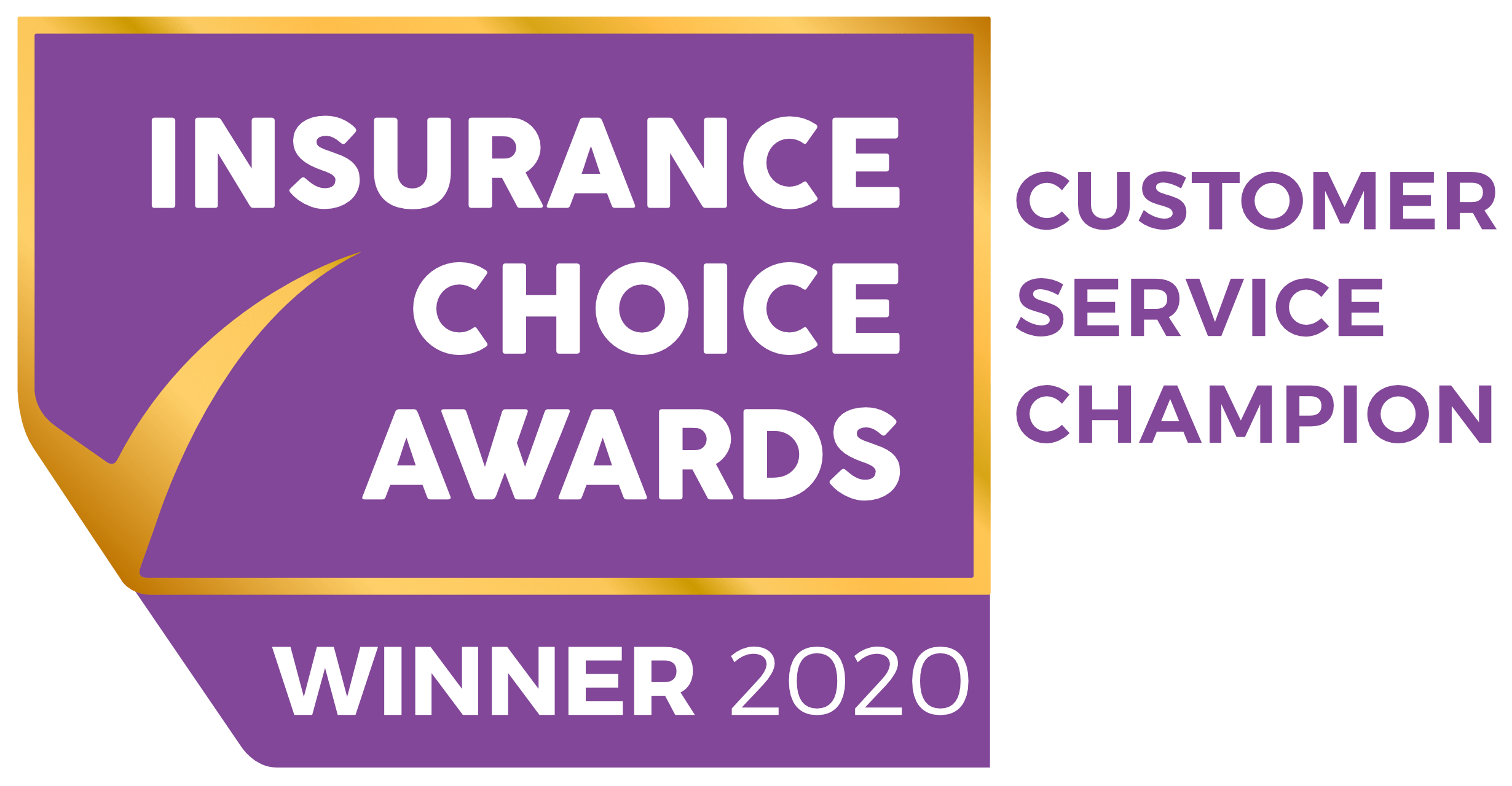 Insurance Choice Awards - Winner 2020 - Customer Service Champion